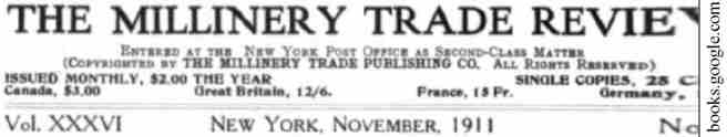 02 Millinery Trade Review 1911