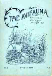 1895 Avifauna