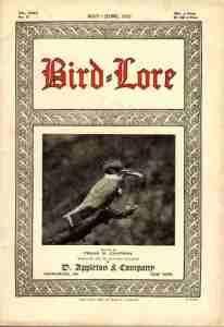1925 Bird-Lore