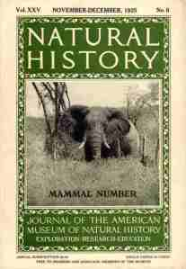 1925 Natural History