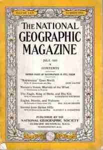 1933 National Geographic Magazine