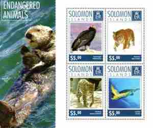 01 Stamp - Solomon Islands 2014