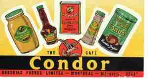 03 Advertisement - Condor condiments