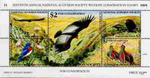 03 Conservation stamp - 1995 NAS
