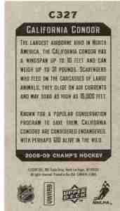 07 Trading card - 2009 Champs - reverse