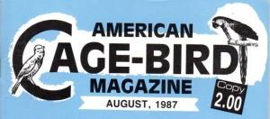 02 American Cage-Bird Magazine 1987