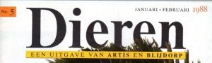 07 Dieren 1988 cover