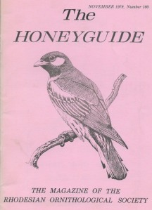 01 Honeyguide 1979 cover
