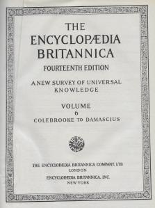 01a Britannica 1929 - title page