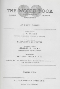02a World Book 1930 - title page
