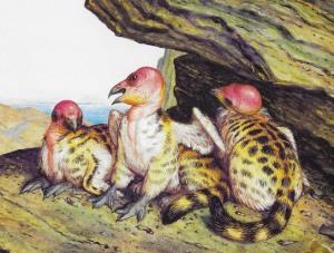 03 Walton Ford - California griffin - chicks