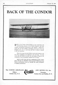 01 Advertisement - Curtiss Condor