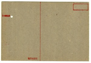 03b Matchbook & Postcard - Condor Field - b