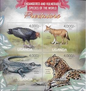 09 Postage stamp - 2013 Uganda