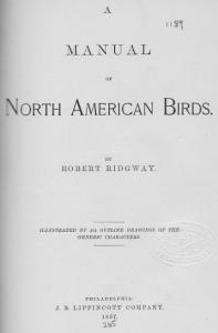03a Ridgway 1887 - Title
