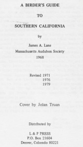 04a Lane 1979 - title