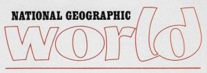 01 National Geographic World - masthead
