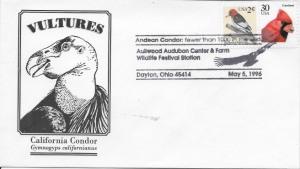 05 Cachet - 1996 Aullwood Audubon Center