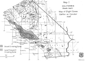 02 Robinson 1942 - map of flight zones