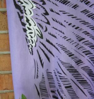 16 scarf - chameleon canvas